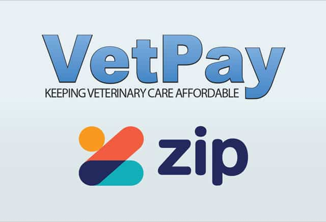 VetPay and Zip Money payment options available